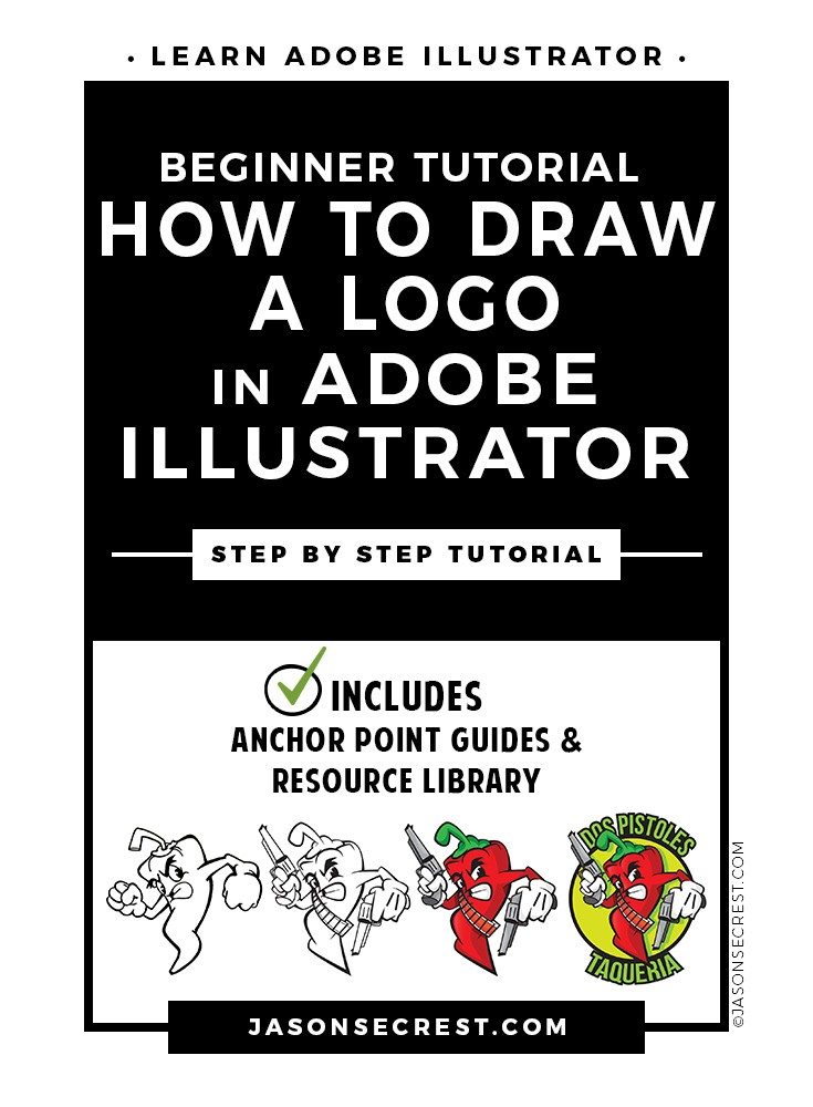 Illustrator Tutorial How to Draw a Logo
