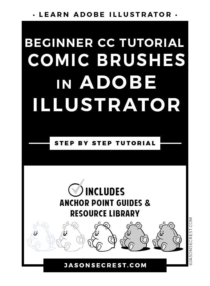beginner-illustrator-cc-tutorial-comic-brushes