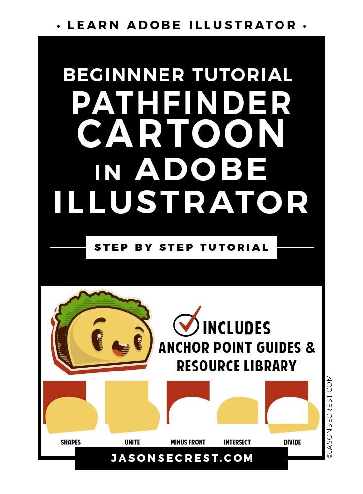 Adobe Illustrator CC Tutorial using Pathfinder