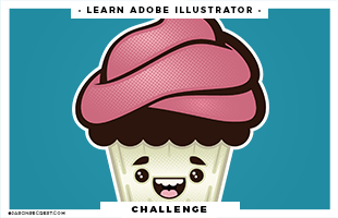 adobe illustrator tutorial cupcake