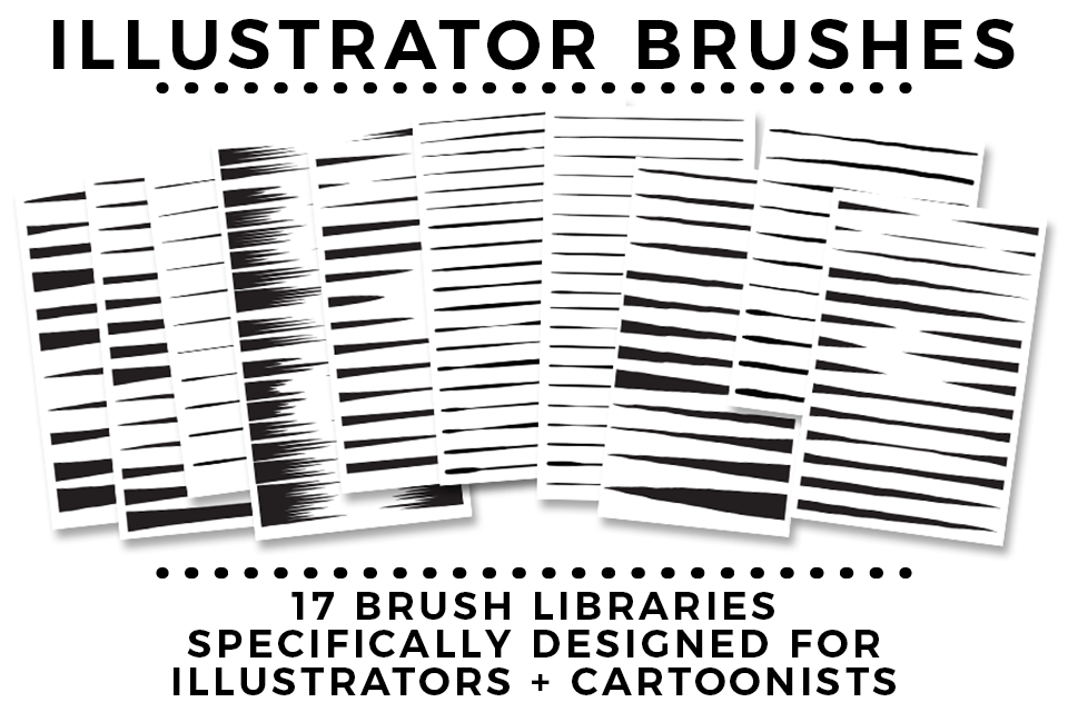 illustrator cartoon brushes