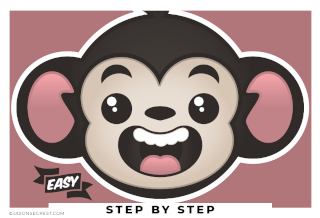 adobe illustrator monkey shapes