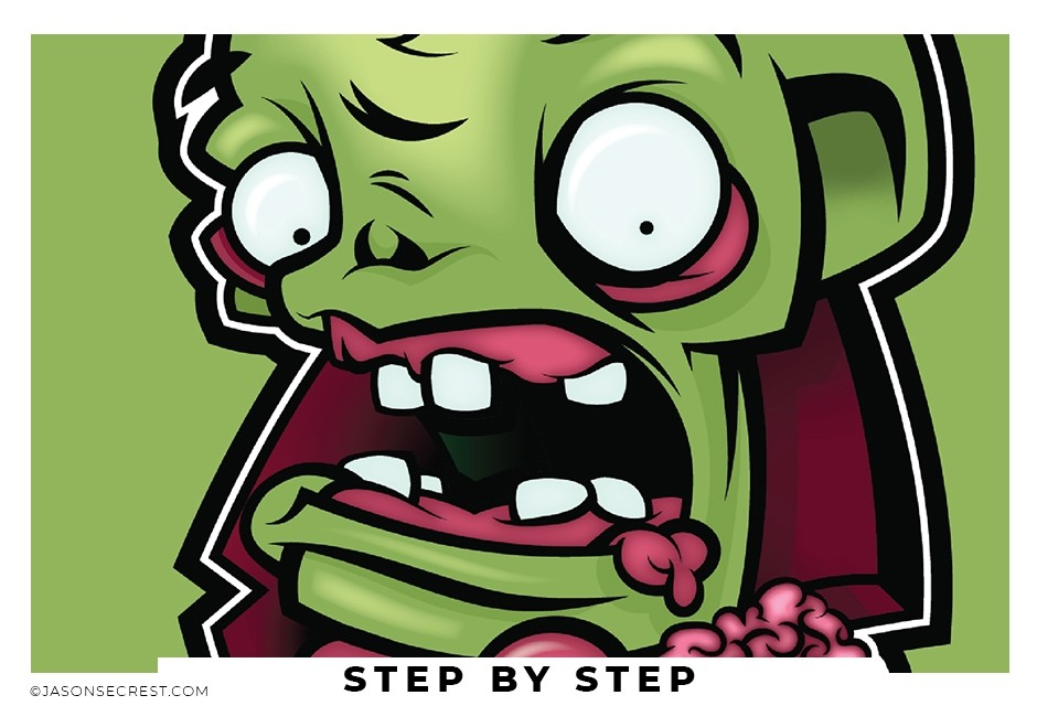 adobe illustrator tutorial pen tool zombie