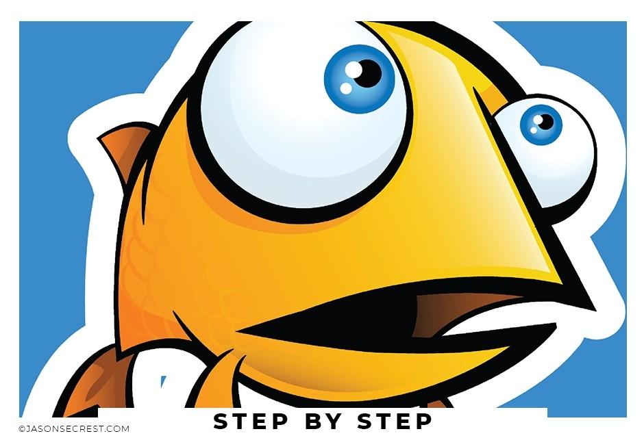 adobe illustrator step by step fish tutorial