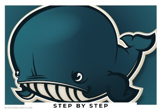adobe illustrator tutorial using pen tool whale