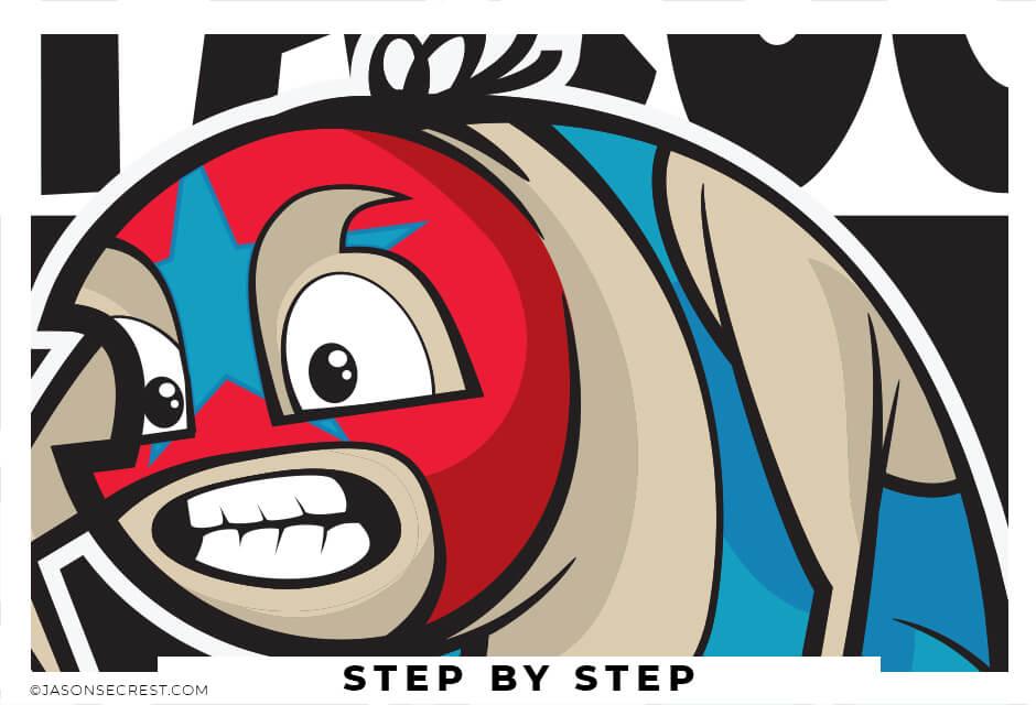 Adobe Illustrator Beginner Pen Tool Tutorial Wrestler