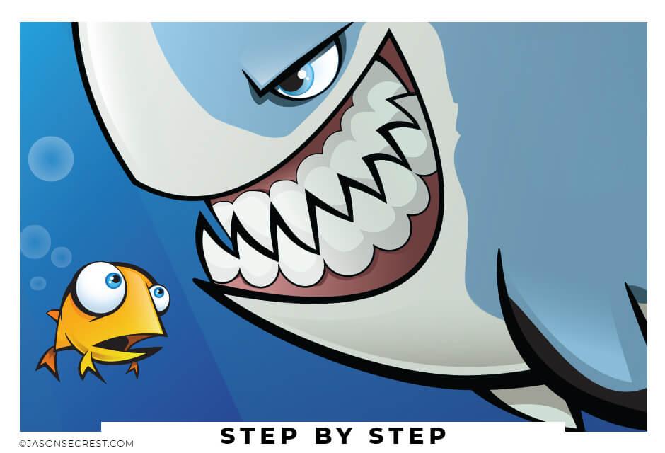 Adobe Illustrator Tutorial using Pen Tool Shark