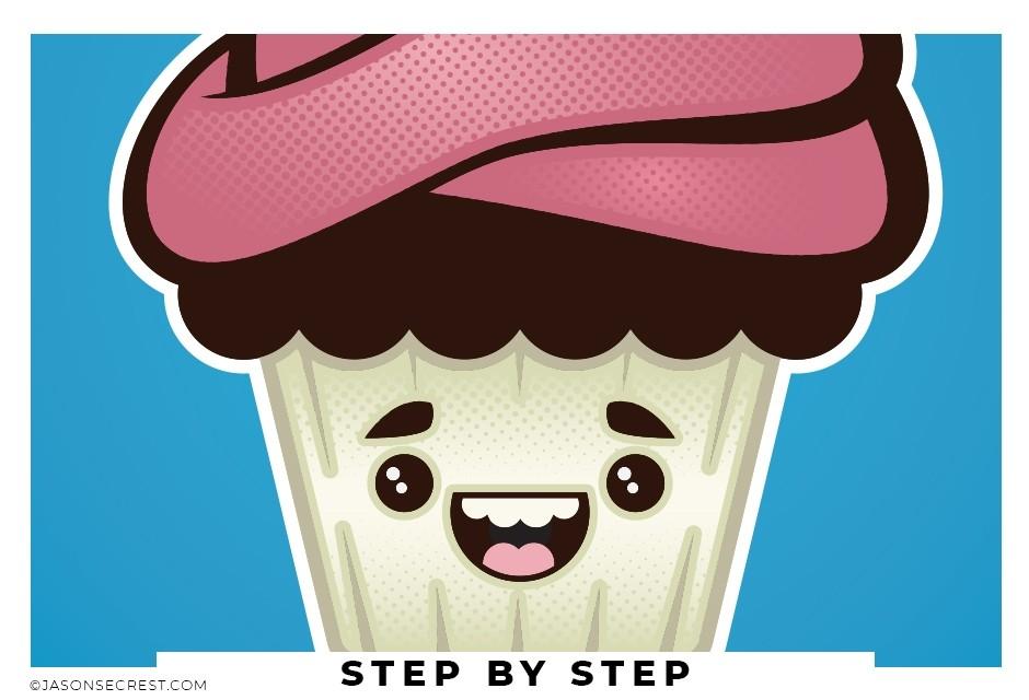 beginner adobe illustrator tutorial cupcake