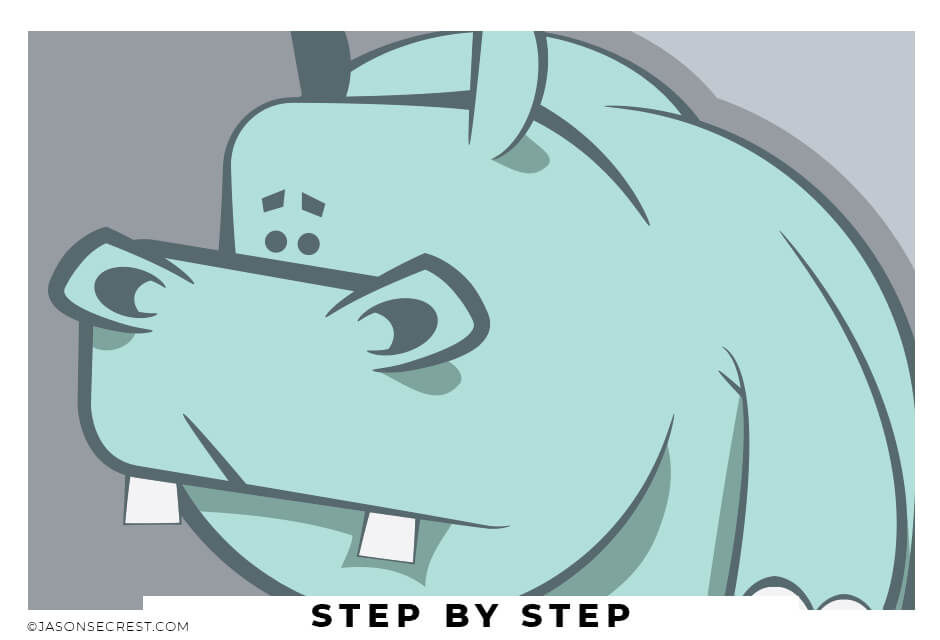 beginner adobe illustrator tutorial hippo